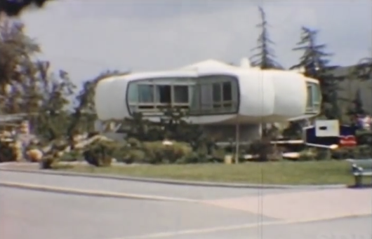 "Wild Concept: Disneyland's ""House of the Future"" was a wild idea that had many materials made of PLASTIC."