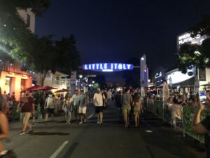 Trip to Little Italy – Downtown San Diego – Labor Day Weekend 2020