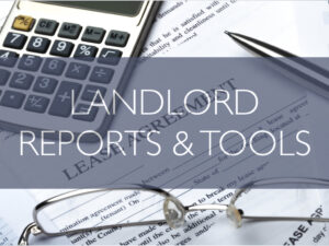 Landlord tools and condo rental reports
